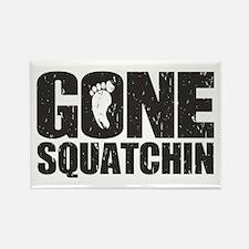 Gone Squatchin Rectangle Magnet