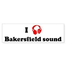 Bakersfield sound music Bumper Bumper Sticker