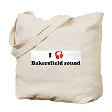 Bakersfield sound music Tote Bag