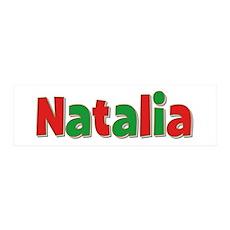 Natalia Christmas 36x11 Wall Peel