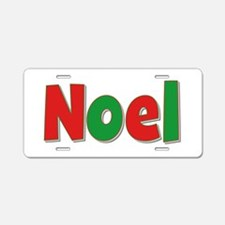 Noel Christmas Aluminum License Plate