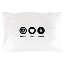 Bass Drum Player Pillow Case