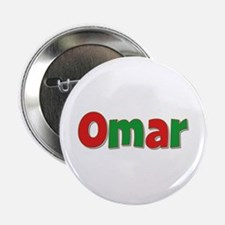 Omar Christmas Button