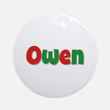 Owen Christmas Round Ornament