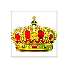 """Royal Crown 11 Square Sticker 3"""" x 3"""""""