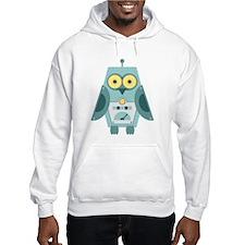 Owl Robot Hoodie