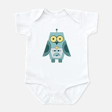 Owl Robot Infant Bodysuit