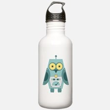 Owl Robot Water Bottle