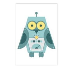 Owl Robot Postcards (Package of 8)