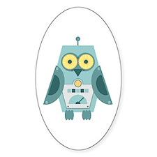 Owl Robot Decal