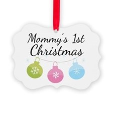 Cute Mother Picture Ornament