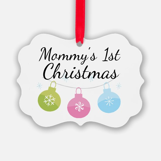 Unique Baby%27s first christmas Ornament