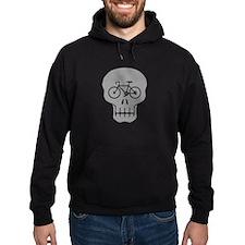 Cycling Skull Hoodie
