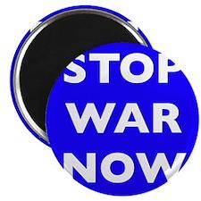 "Stop War Now 2.25"" Magnet (100 pack)"