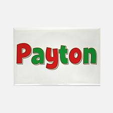 Payton Christmas Rectangle Magnet