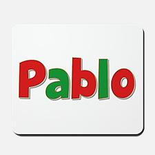 Pablo Christmas Mousepad