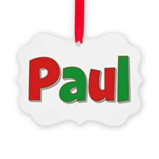 Paul Christmas Ornament