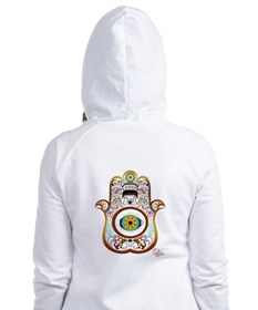 Hamsa/Copper Fitted Hoodie