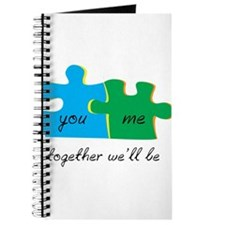 You and Me Together Well Be Journal