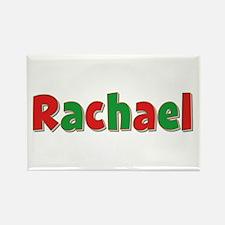 Rachael Christmas Rectangle Magnet