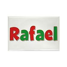 Rafael Christmas Rectangle Magnet
