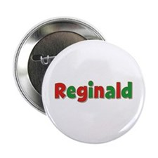 Reginald Christmas Button