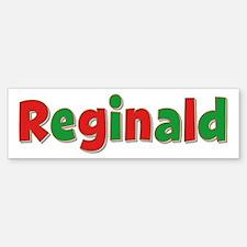 Reginald Christmas Bumper Bumper Bumper Sticker