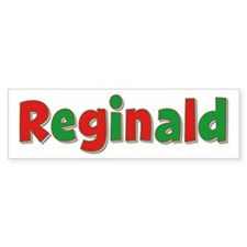 Reginald Christmas Bumper Bumper Sticker