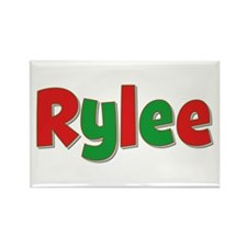 Rylee Christmas Rectangle Magnet
