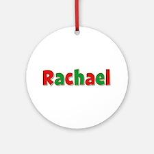 Rachael Christmas Round Ornament