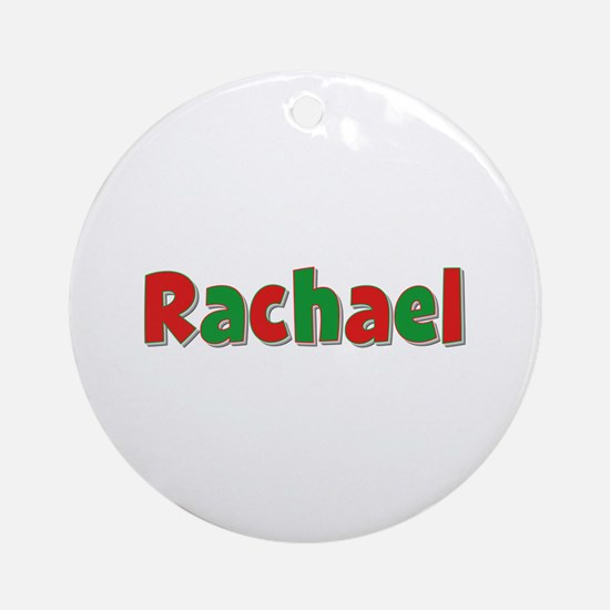 Rachael Christmas Round Ornament