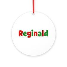 Reginald Christmas Round Ornament