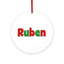 Ruben Christmas Round Ornament