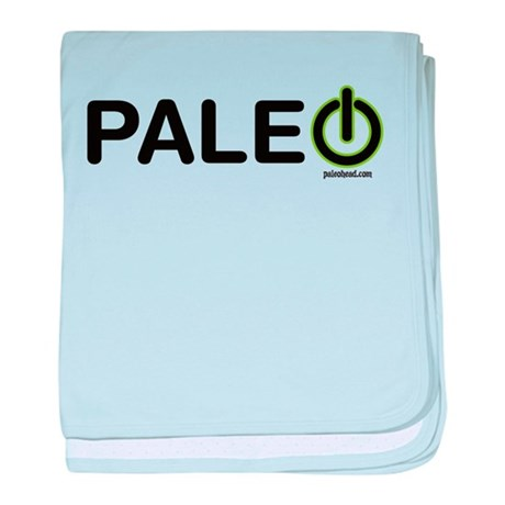 Paleo Power Horizontal baby blanket