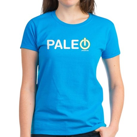 Paleo Power Horizontal Women's Dark T-Shirt