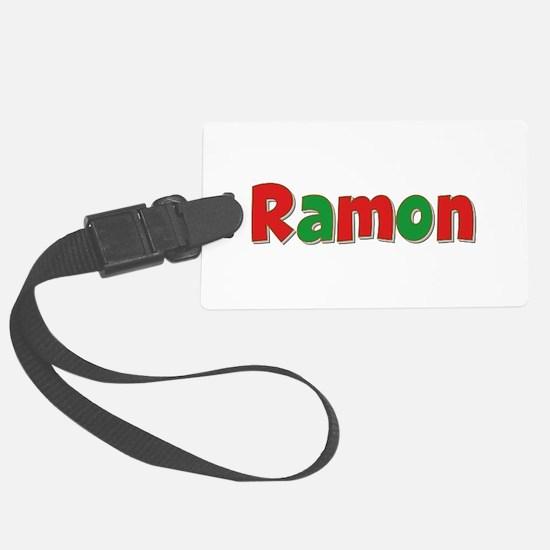 Ramon Christmas Luggage Tag