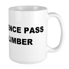 Independence Pass Rock Climber Mug