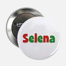 Selena Christmas Button