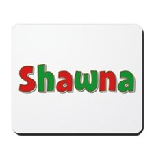 Shawna Christmas Mousepad
