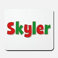 Skyler Christmas Mousepad