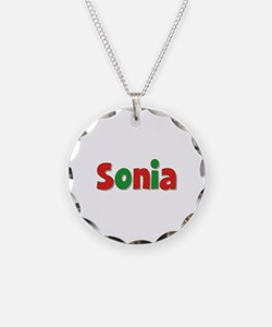 Sonia Christmas Necklace