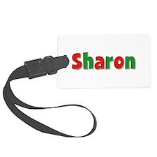 Sharon Christmas Luggage Tag