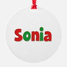 Sonia Christmas Ornament