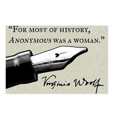 Anonymous Was a Woman Postcards (Package of 8)
