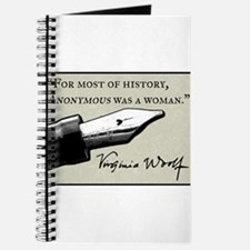 Anonymous Was a Woman Journal
