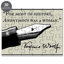 Anonymous Was a Woman Puzzle