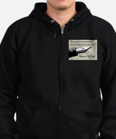 Anonymous Was a Woman Zip Hoodie