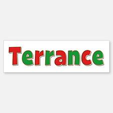 Terrance Christmas Bumper Bumper Bumper Sticker
