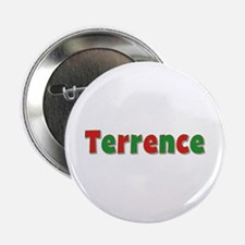 Terrence Christmas Button