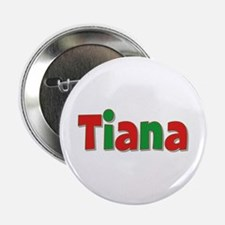 Tiana Christmas Button